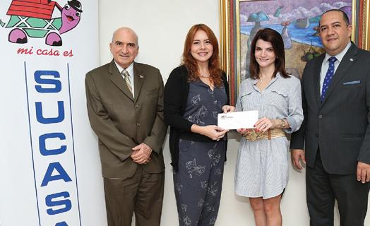 Donación a la Fundación Operación Sonrisa